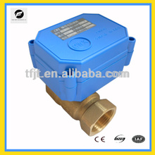 "DC5V 3/4"" 2-way CR04 Normal closed Brass Motorized Balll Valve"