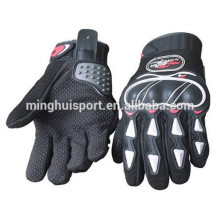 Motocross leather gloves,motorcycle leather gloves,heated motorbike racing gloves