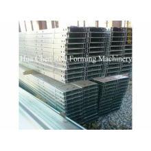 Full Automatic Cr12 C Purlin Roll Forming Machine For Prefa