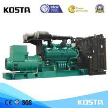 Máy phát điện diesel loại trong nhà 910KVA với động cơ CUMMINS