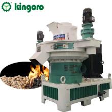 Máquina granuladora de madera de biomasa para hacer pellets de combustible