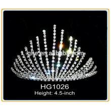 Корона обручальные кольца ювелирные изделия пользовательские тиары хрустальные короны тиары кристалл rhinestone швейцарские часы корону