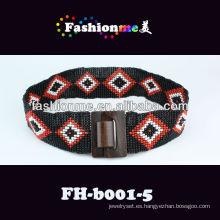Fashionme 2013 nueva hecha a mano de la señora correa FH-b001