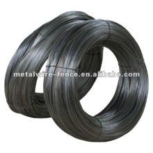 Fio de ferro recozido preto, fio de ferro preto