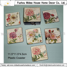 Европа Rose Design PVC Coaster