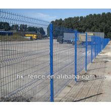 Drahtdurchmesser 3,5-5,5 mm Loch 150x50mm Metallplatte beschichtet PVC heißer Verkauf
