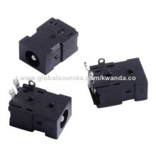 1.6mm DC Jacks, Rating with 1A 12V DC, Application for Vacuum Cleaners