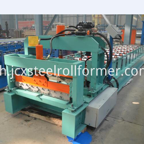 740 step tile roll forming machine