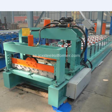 Myanmar 740 Glasad takläggning Tile Roll Forming Machine
