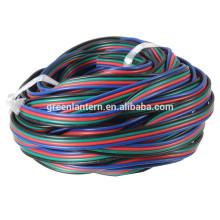 Cable de cable de la extensión de 4 PIN RGB para la luz de tira del LED 3528/5050 RGB