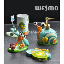 Kids Polyresin Bathroom Set (WBP0880A)