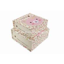 Caja de embalaje de cartón, Caja de regalo de cartón