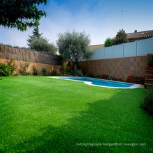 Home interior PPE Material 30mm art artificial grass for swimming pool