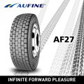 Aufine Radial Truck and Bus Tyres with Gcc and DOT