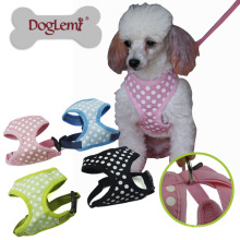Polka Dots Klettergurt für Haustier Hund oder Katze China Supply Puppy Harness