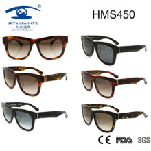 Woman Style Fashionable Acetate Sunglasses (HMS450)