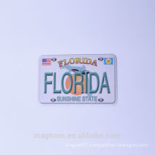 2016 custom made florida tourist souvenir flat paper fridge magnets wholesaler