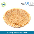 White Wicker Flower Basket