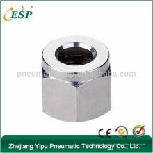 zhejiang qs porca penumatic encaixe de metal