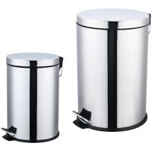 Stainless Steel Pedal Bin Set