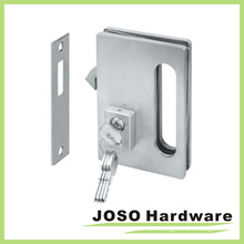 Glass Door Hardware Sets Sliding Glass Door Locks with Key (GDL001A)