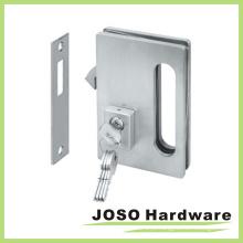 Conjuntos de ferragem da porta de vidro Fechamentos de porta de vidro deslizantes com chave (GDL001A)