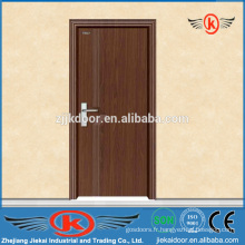 JK-P9010 MDF bathroom pvc film door design