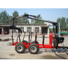 Journal de ATV remorque avec grue pour tracteur
