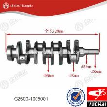 Cigüeñal del motor de gasolina Yuchai G2500-1005001 para YC4G