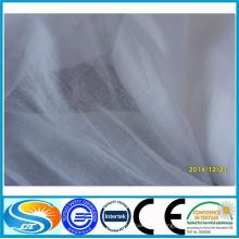 Tissu imprimé 100% coton voile pour vêtements de mode pour dames