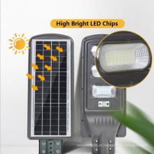 120W solares postes de luz