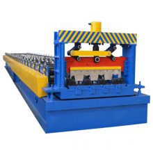 Rolo da plataforma de assoalho da folha da construção de aço que forma a máquina