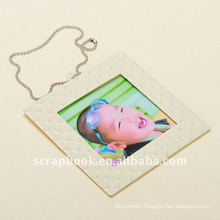 Rectangle metal photo frame and photo holder