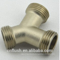 Brass forged Male y connector