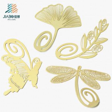 Marcador feito sob encomenda do metal do logotipo do ouro do cobre relativo à promoção do presente para a venda por atacado