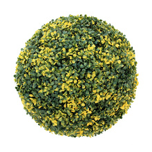 Wholesale tropical style outdoor artificial box balls for decoration