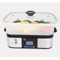 Cuisinière à vapeur en acier inoxydable 6L avec puissance électrique couverte