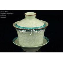 Tang Cao (design da flor da dinastia Tang) Gaiwan 150cc