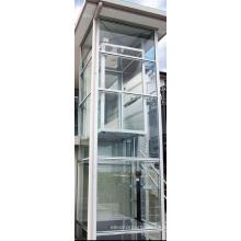 Лифт из нержавеющей стали дома, полный лифта