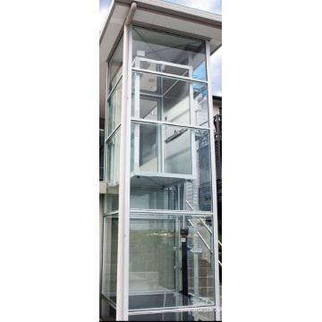 Acier inoxydable acier Accueil ascenseur, ascenseur complet