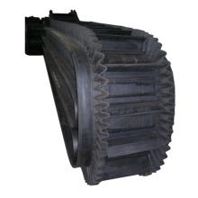 Боковой резиновый конвейерный ленточный конвейер для углеобогатительных заводов и цементных заводов