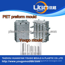32 cavity preform mould hot runner with valve gate