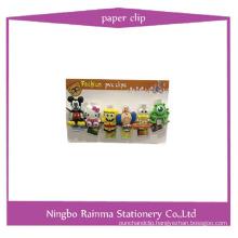 Cartoon Cute PVC Clip with Photo Clip
