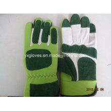 Schwein Leder Handschuh-Industrie-Handschuh-Geschützte Handschuh-Handschuhe-Arbeiten Leder Handschuh