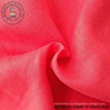 100% tela de lino teñida tela (QF13-0273)
