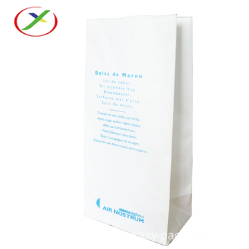 Square Bottom Air Sickness Bag mit Logo