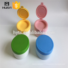 140ml cosmetic plastic talcum powder bottle