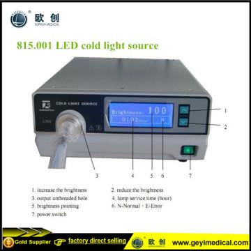 Endoskopik Ekipmanlar LED Soğuk Işık Kaynağı Endoskopu