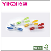 Conjunto de 24pcs pegas de roupa macia grip plástico