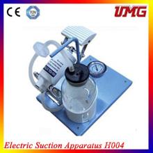 Portable Dental sucção máquina pedais atrair máquina